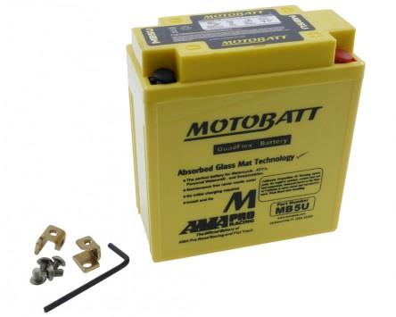 Batterie 12V 7Ah MOTOBATT MB5U 4-polig