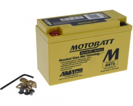 Batterie 12V 6,5Ah MOTOBATT MB7U