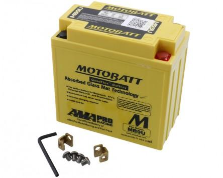 Batterie 12V 11Ah MOTOBATT MB9U, 4-polig