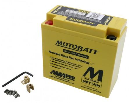 Batterie 12V 13Ah MOTOBATT MBT14B4