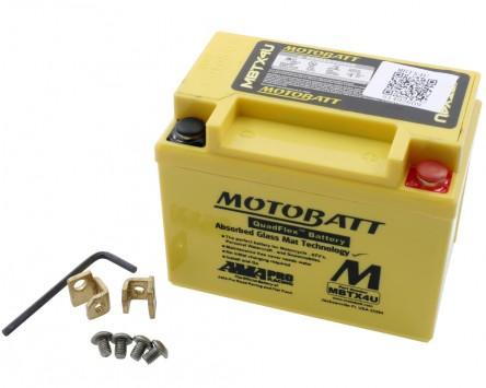 Batterie 12V 4,7Ah MOTOBATT MBTX4U