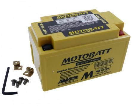 Batterie 12V 8,6Ah MOTOBATT MBTZ10S, 4-polig