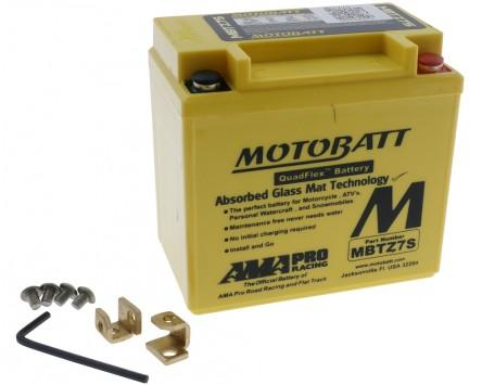 Batterie 12V 6,5Ah MOTOBATT MBTZ7S