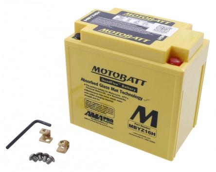 Batterie 12V 16,5Ah MOTOBATT MBYZ16H, 4-polig