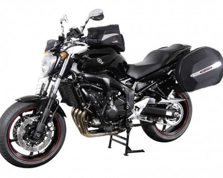 Seitenkoffer System Aero ABS. ABS/600D nylon, schwarz, Yamaha FZ6 / Fazer 07-