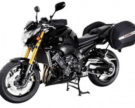 Seitenkoffer System Aero ABS. ABS/600D nylon, schwarz, Yamaha FZ8 / Fazer 10-