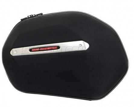 Seitenkoffer System Aero ABS/600D nylon, schwarz, Honda CBF 500/600/1000 04-
