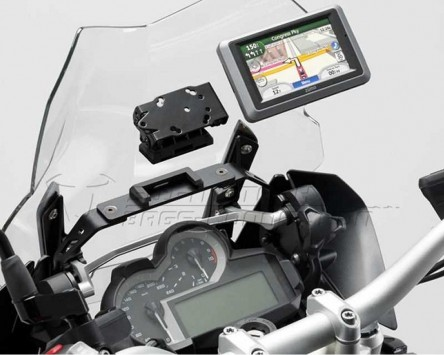 GPS Navi Halter QUICK-LOCK BMW R 1200 GS LC ABS 13-14 Vibrationsgedämpft