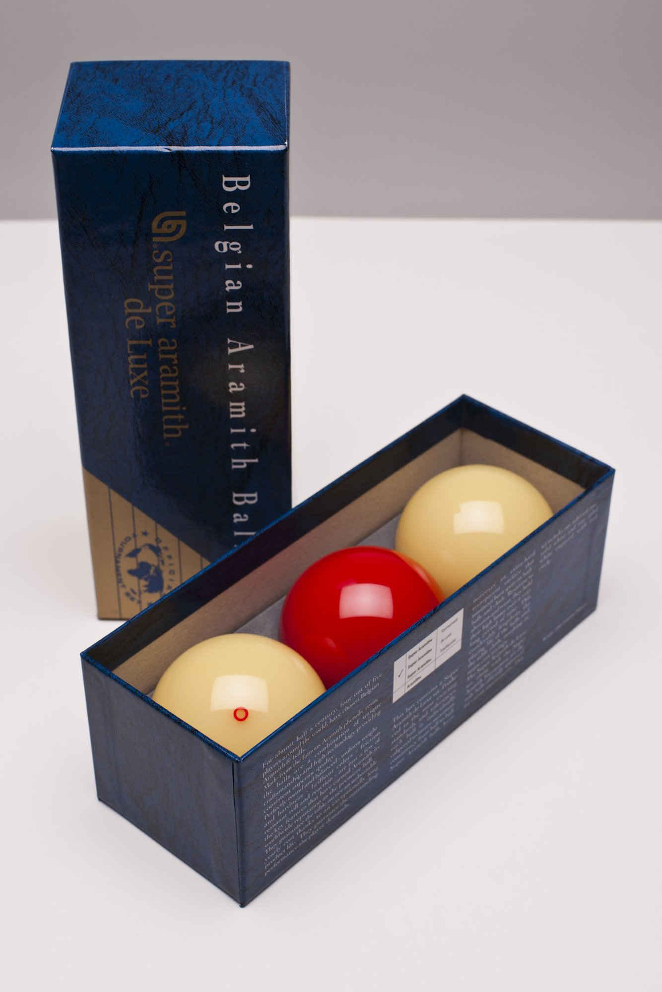 Carambolage-Kugeln Carom Super Aramith de Luxe, 61,5mm
