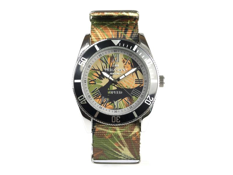 Speed Camouflage, Hippie-Unisex-Uhr, Look olive
