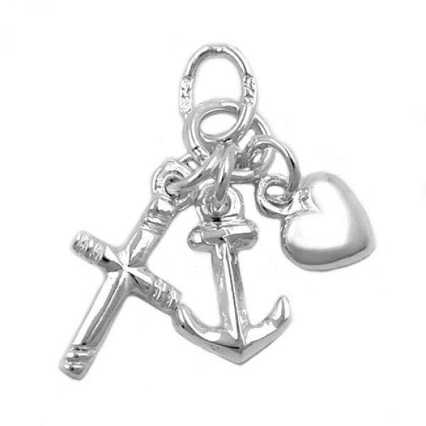 Anhänger, Seemannsgrab, Silber 925