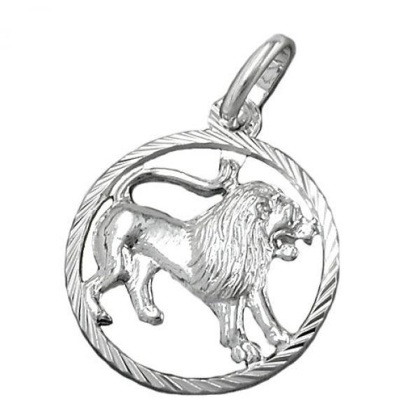 Anhänger, Sternzeichen Löwe Silber 925