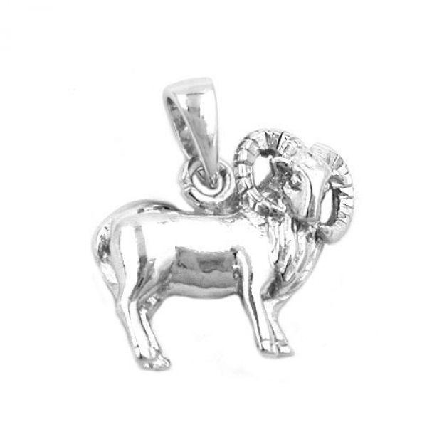 Anhänger, Widder, Silber 925