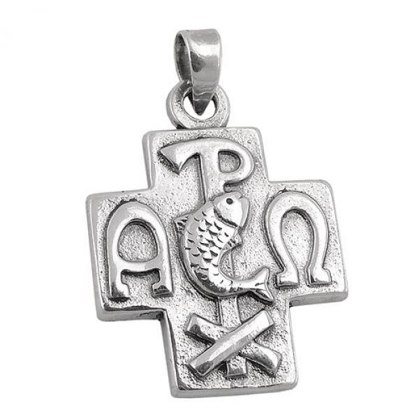 Anhänger kirchliche Symbolik, Silber 925
