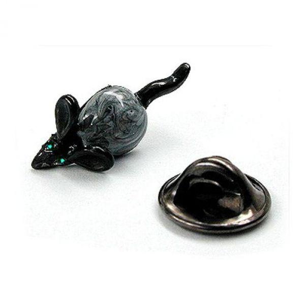 Pin, Maus grau-marmoriert, Augen grün