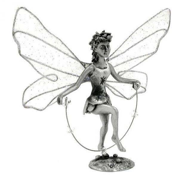 Zinnfigur, Elfe mit Springseil, Corinn
