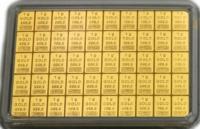 50g Tafelgoldbarren CombiBar