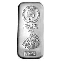 Cook Island - 30 CID Münzbarren Bounty 2014 - 1 KG Silber