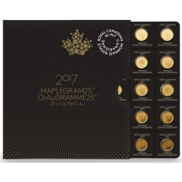 Kanada - 12,5 CAD Maple Leaf Blister - 25x1g Gold