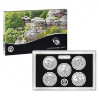 USA - America the Beautiful Quarters Silver Set 2016 - Silber PP