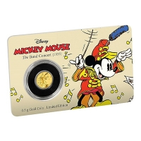 Niue - 2,5 NZD Disney Mickey Mouse Die Band 2016 - 0,5g Gold
