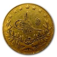 Türkei - 100 Kurus - Goldmünze