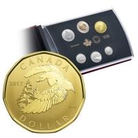 Kanada - 3,90 CAD Schneegans 2017 - Kursmünzensatz